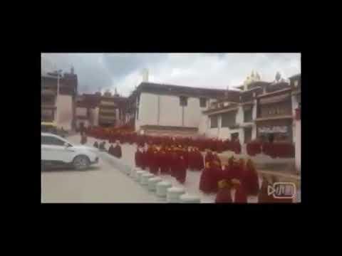 Dorje Shugden Monks Celebrate the Completion of Prajnaparamita Class