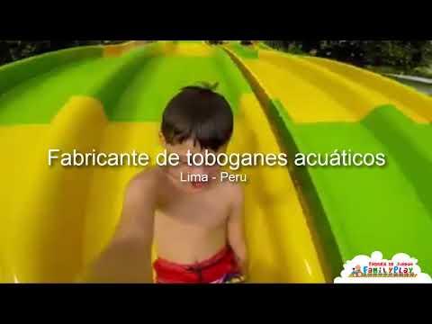 Fabricante de toboganes acuaticos