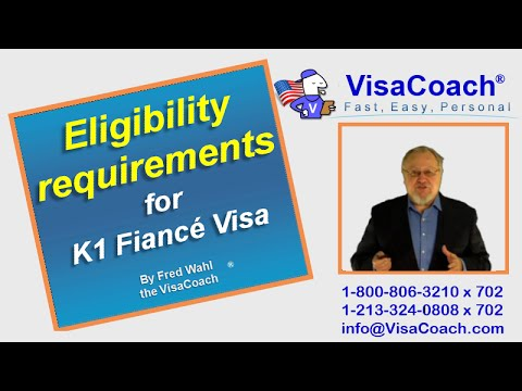 What are the eligibility requirements for a K1 Fiance Visa? FAQ#02