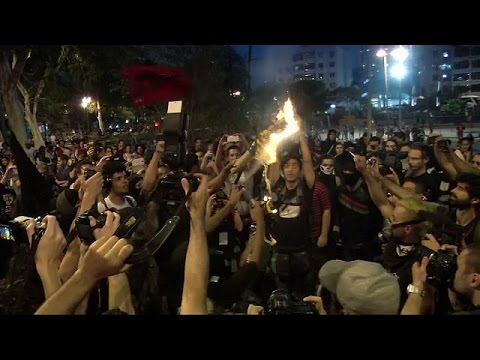 Ρίο 2016: Στη σκιά βίαιων διαδηλώσεων η τελετή έναρξης