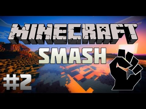 Minecraft Mini-Game : Smash - БЕСПРЕДЕЛ