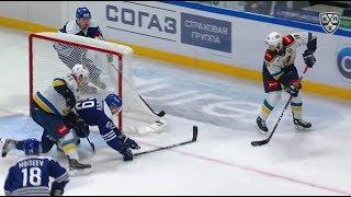 Бочаров забивает Бочарову
