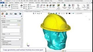 Part Design ZW3D 2013 Copy Geometry to Part