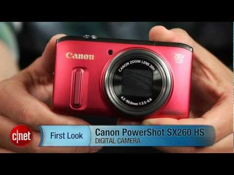 First Look: Canon PowerShot SX260 HS