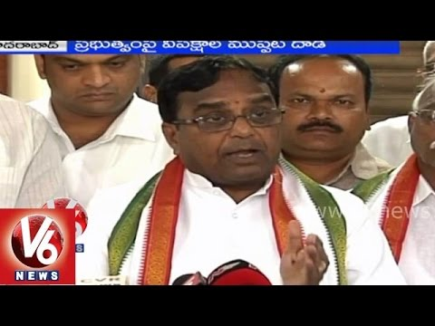 Telangana opposition parties targets CM KCR governance in state
