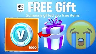 SAD NEWS for Fortnite Season 7 FREE SKIN GIFTING...