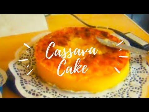 MY CASSAVA CAKE