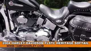 10. Used 2004 Harley Davidson Heritage Softail Classic Motorcycle for sale in Georgia USA