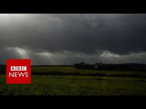 Hurricane Ophelia: Warnings as storm heads to UK - BBC News