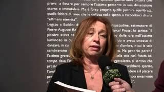 Francesca Dini - storica dell'arte e curatrice della mostra
