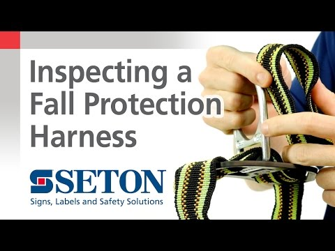 How to Perform a Routine Fall Protection Harness Inspection | Seton Video