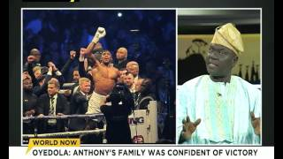 Anthony Joshua's Uncle Oyedola Joshua speaks on Klitschko victory