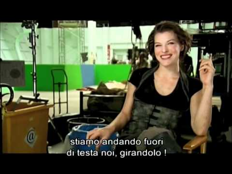 Intervista a Milla Jovovich - Resident Evil Afterlife in BLU-RAY e DVD