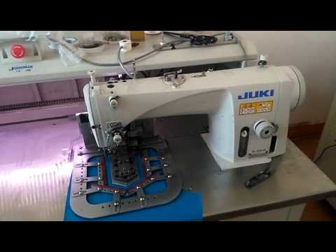 fully automatic no iron patch pocket sewing machine