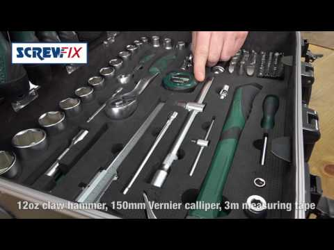 Kendo Alu-Werkzeugtrolley 161-tlg