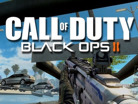 Black Ops 2 - Out of the Map Glitch - Grind (Noob Accidentally Glitches Out of Map?)