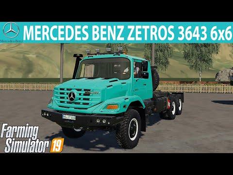 Mercedes ZETROS 3643 6x6 v3.0