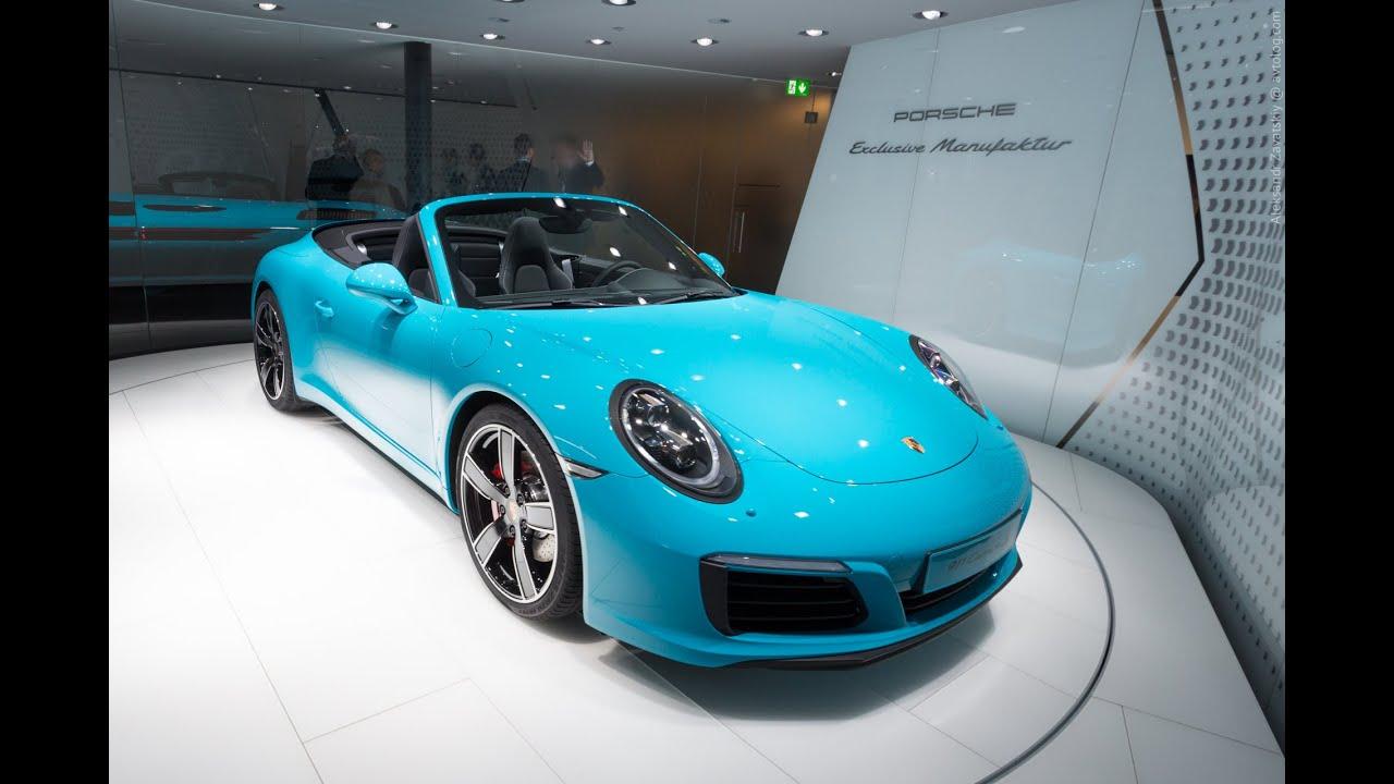 2016 Porsche 911 Carrera S Cabiolet: Франкфурт 2015