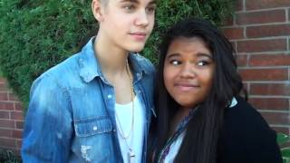 Justin Bieber Just Kiss A Fan Because OF Her Birthday