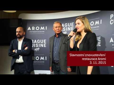 Znovu otevření restaurace Aromi