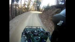 5. GoPro HD: Yamaha Grizzly 350 4x4