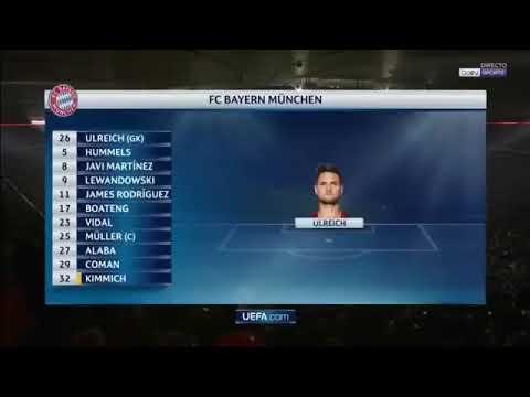 Bayern Munchen - Besiktas (5-0) - All Goal & Highlight - (21-02-2018)