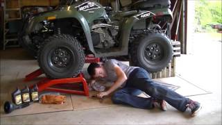 8. Arctic cat oil change