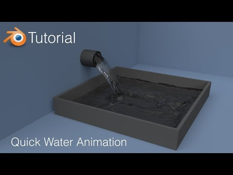 [2.79] Blender Tutorial: Quick Water Animation