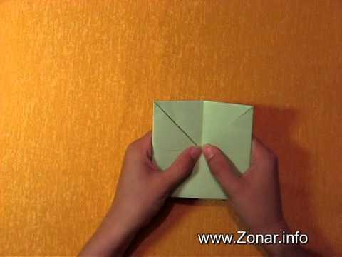 Игрушка из бумаги оригами