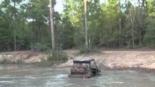 4. Yamaha Rhino 450 through water/mud hole