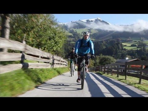 Mountainbiken in Tirol - Mountainbike Urlaub in Österreich - Tirol im Sommer (видео)