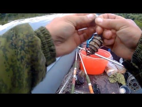 ловля рыбы на оке на удочку