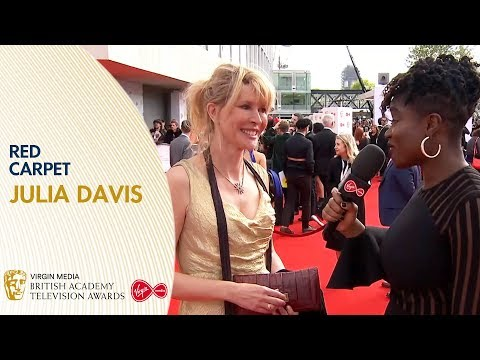 Julia Davis Talks About Sally4Ever on the Red Carpet | BAFTA TV Awards 2019