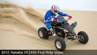 7. MotoUSA First Ride:  2012 Yamaha YFZ450