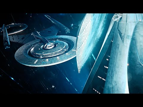 USS Discovery Arrives At Starfleet Headquarters - Star Trek Discovery 3x05