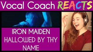 Video Vocal Coach reacts to Iron Maiden (Bruce Dickinson) Hallowed Be Thy Name MP3, 3GP, MP4, WEBM, AVI, FLV Februari 2019
