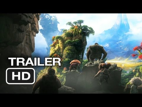 The Croods TRAILER (2013) - Ryan Reynolds, Emma Stone Movie HD Video