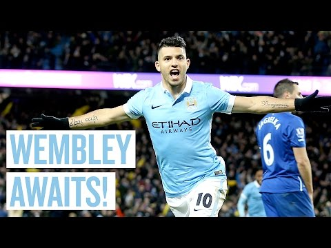 HIGHLIGHTS | City 3-1 Everton | Capital One Cup Semi Final 2nd Leg