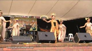 Sydney Festival Traditional Thai Dance Show&Music 2011 HD