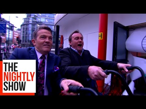 Philip Glenister & Bradley Walsh Run The Celebrity Circuit (видео)