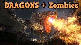 Black Ops 3 Zombies - DRAGONS? (Descent Gameplay)