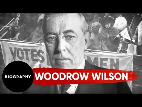 Woodrow Wilson, 28th President of the United States | Biography