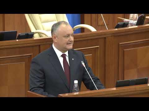 Președintele Republicii Moldova a rostit un discurs în cadrul ședinței de constituire a Parlamentului
