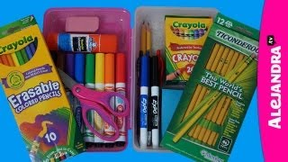 How to Organize Your Pencil Case - Pencil Box Organization