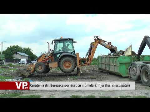 Curățenia din Bereasca s-a lăsat cu intimidări, înjurături și scuipături