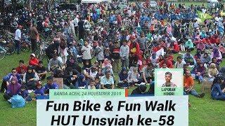 Fun Bike & Fun Walk HUT Unsyiah ke-58 Tahun Berhadiah Utama Tiga Sepeda Motor