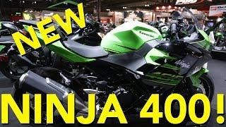3. 2018 Kawasaki Ninja 400 First Look