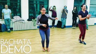 Besos Escondidas - Grupo Extra - Bachata Demo with #JSquared