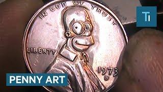 Video This artist can transform a penny into $207 MP3, 3GP, MP4, WEBM, AVI, FLV November 2017