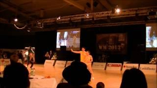 Christina Bichoff-Moos & Lukas Moos - Weltmeisterschaft 2013